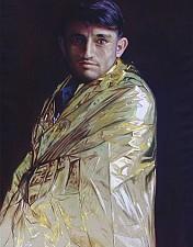 GOLDKIND Aziz 170 x 110 cm Oel auf Leinwand 2016'18