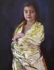 GOLDKIND Ella 170 x 100 cm Oel auf Leinwand 2016'18