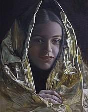 GOLDKIND Lia 120 x 80 cm Oel auf Leinwand 2016'18