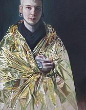 GOLDKIND Lucas 170 x 100 cm Oel auf Leinwand 2016'18
