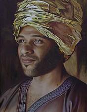 GOLDKIND Mohammed 170 x 110 cm Oel auf Leinwand 2016'18