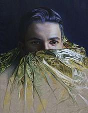 GOLDKIND Shakur2 170 x 110 cm Oel auf Leinwand 2016'18