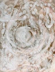 Wildwuchs 13 76x56 cm Tusche auf Papier 2018