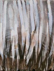 Wildwuchs 27 42x42 cm Tusche auf Papier 2018