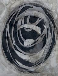 Wildwuchs 8 50x36 cm Tusche auf Papier 2018
